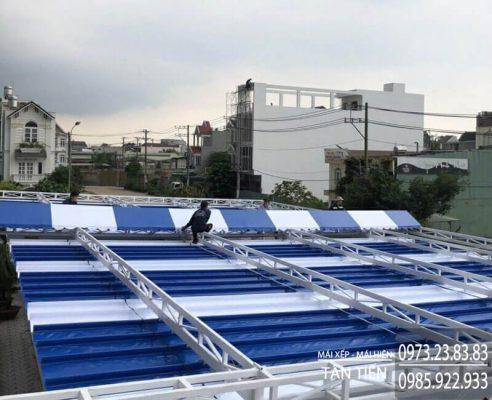 dịch vụ sửa chữa mái xếp từ cửa hàng tân tiến