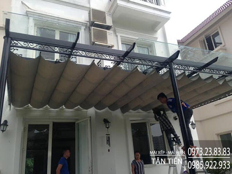 Mái Xếp Di Động Tân Tiến tại quận Tân Bình