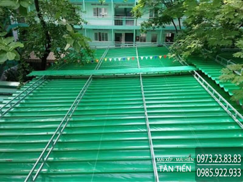 Đơn vị cung cấp mái xếp Đà Nẵng - Mái Xếp Tân Tiến